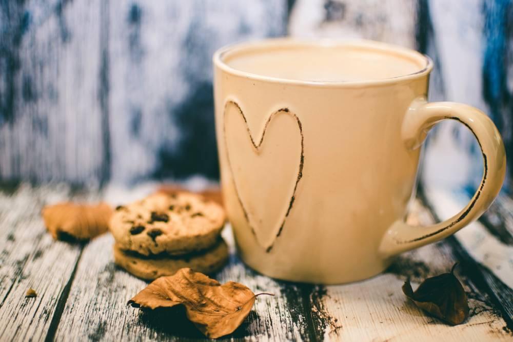 peeling z kávy