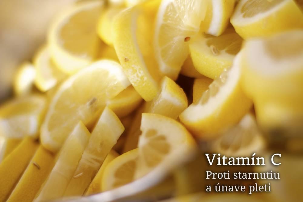 vitamín c na pleť